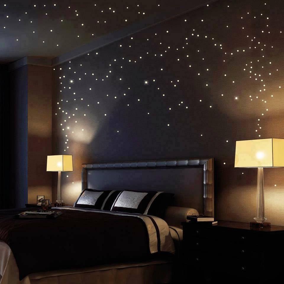 звездное небо в спальне